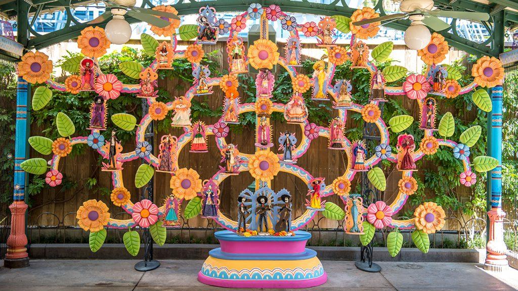 """""""Coco"""" inspired Plaza de la Familia at Disney's California Adventure park"""