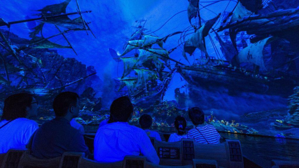 Pirates of the Caribbean adventure at Shanghai Disney Resort