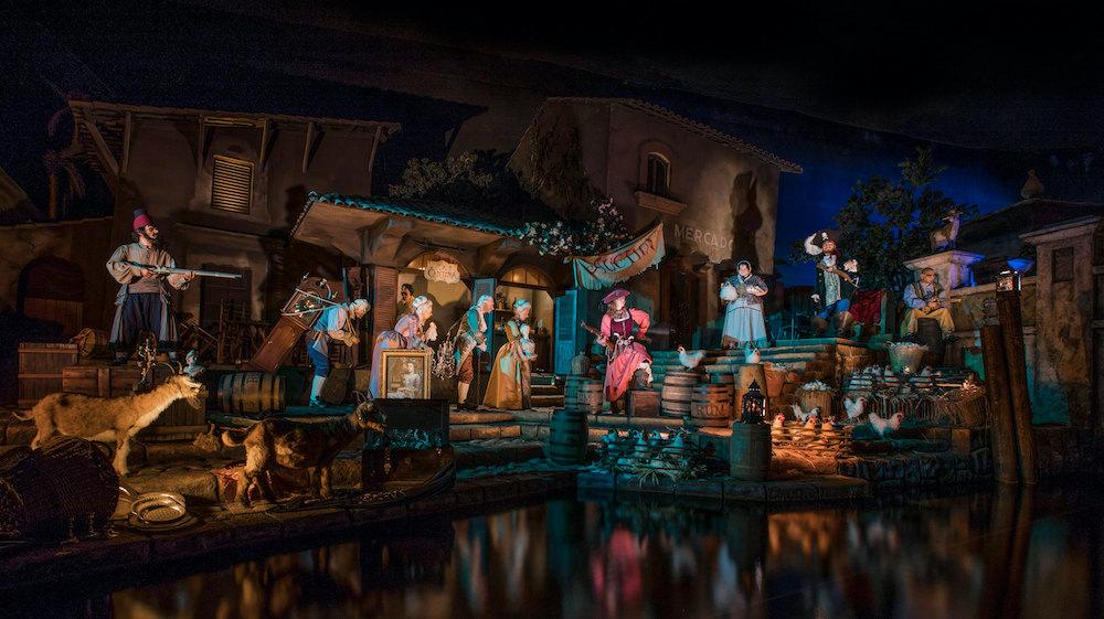 Pirates of the Caribbean at Disneyland Resort