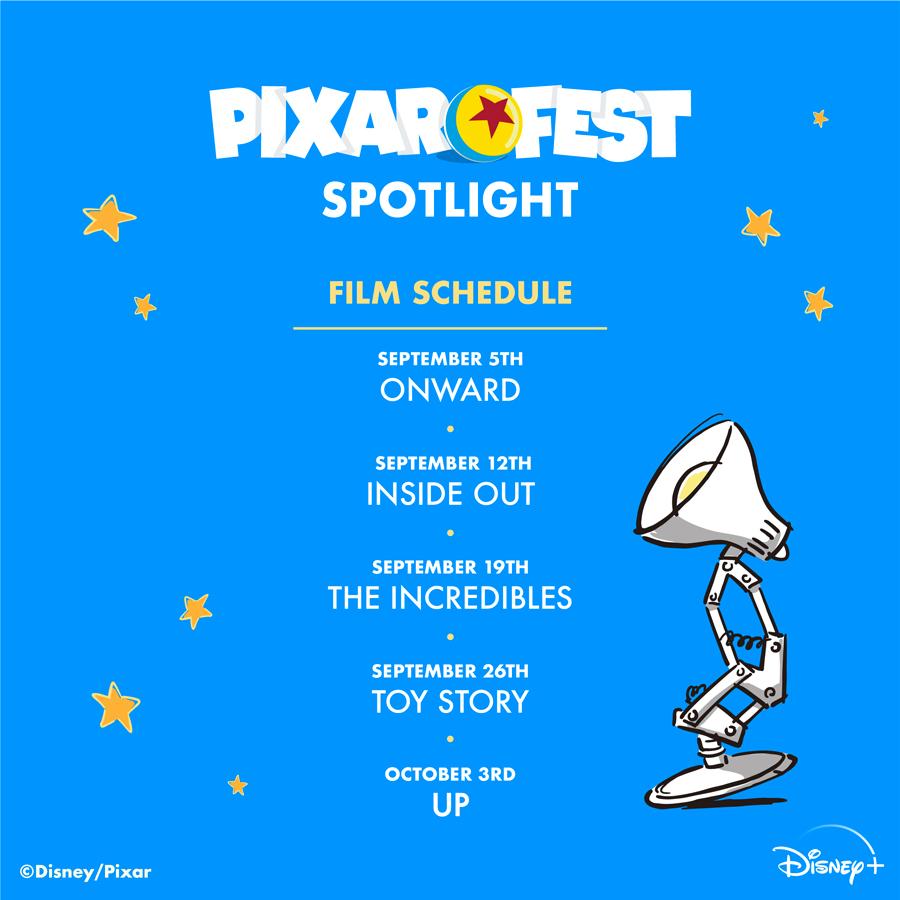 Celebrate #PixarFest All Month Long!