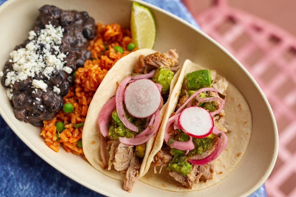 Pork Carnitas Tacos from ABC Commissary At Disney's Hollywood Studios