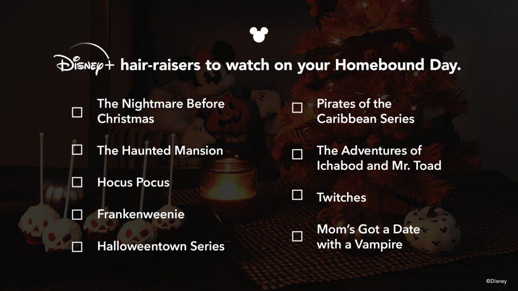 Disney+ Halloween watchlist