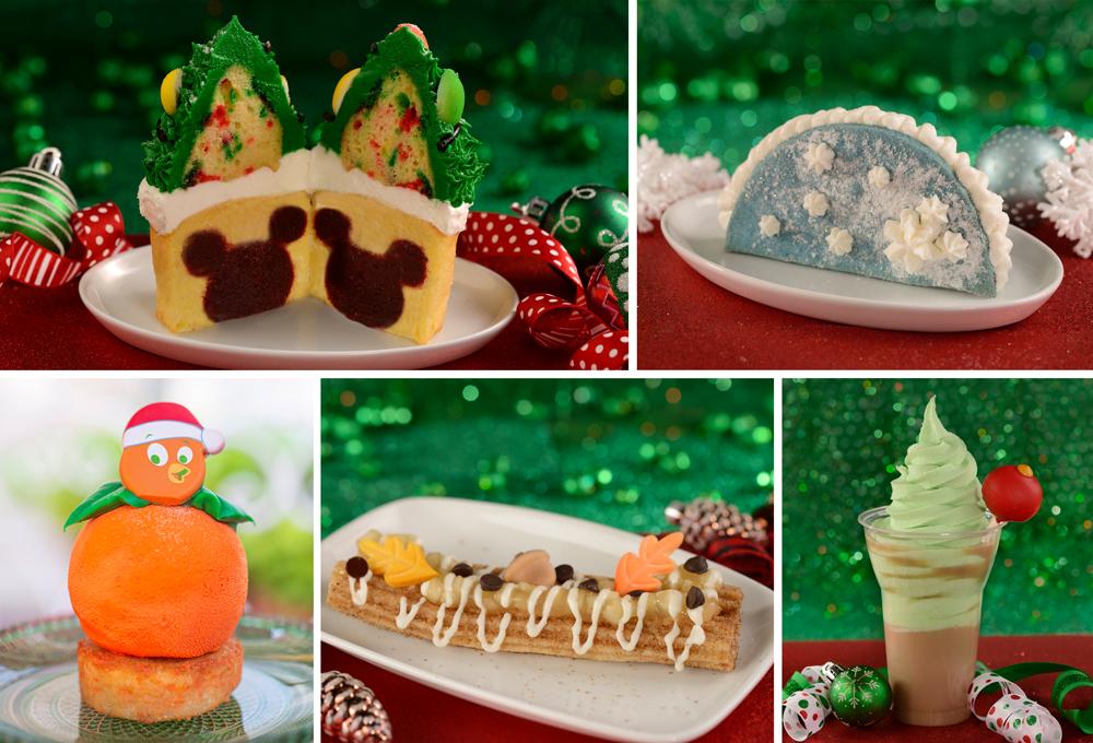 Holiday Highlights: Tasty Treats to Celebrate the Holidays at Walt Disney World Parks