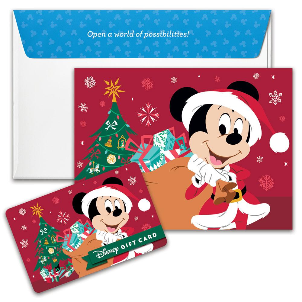 Bring Holiday Cheer with Disney Gift Card!