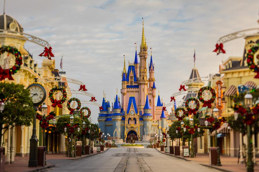 Holiday Magic Arrives at Magic Kingdom Park