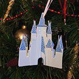 Cinderella Castle DIY ornament