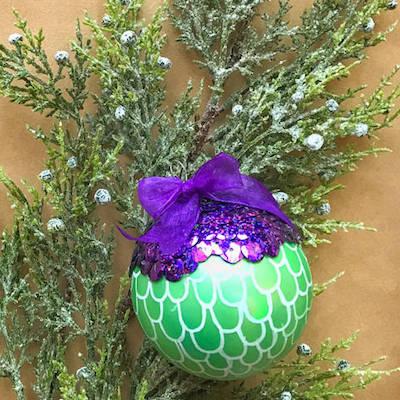 'Little Mermaid'-inspired DIY ornament