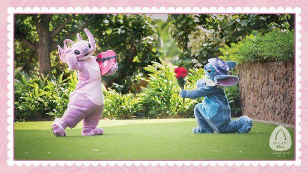 See Angel and Stitch at Aulani, A Disney Resort & Spa