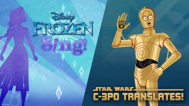Newly Added 'Frozen' & Star Wars Voice Skills on Amazon Kids+