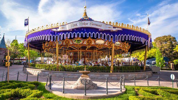 Even More Beautiful: King Arthur Carrousel at Disneyland Park