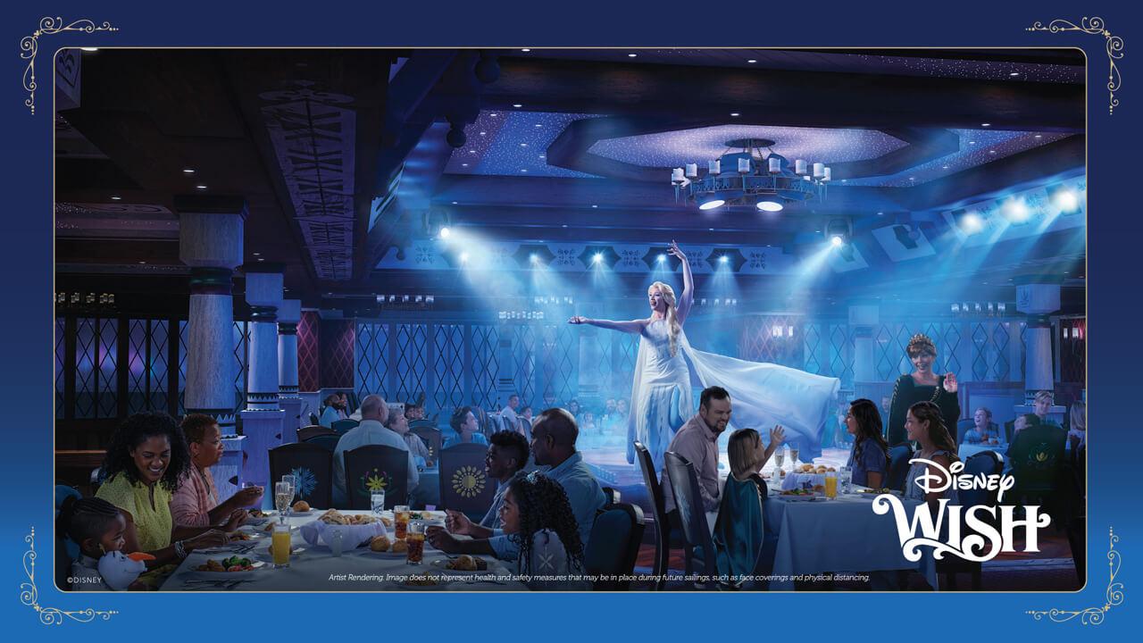 'Frozen' Fun Awaits Families on the Disney Wish