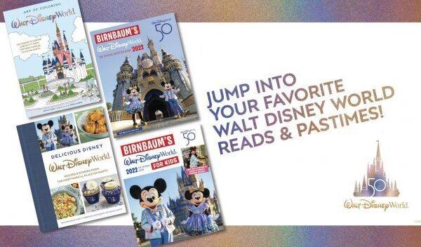 Get a Sneak Peek at New Disney Books Celebrating Walt Disney World Resort's Upcoming 50th Anniversary
