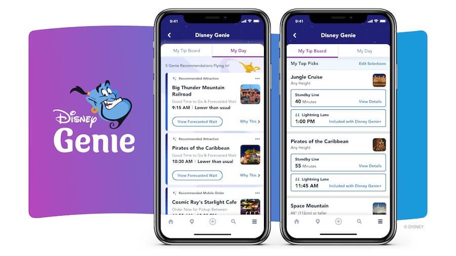 Disney Genie comes to Walt Disney World October 19th!